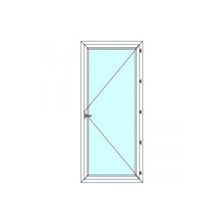 Porte-fenêtre 1 vantail sans soubassement