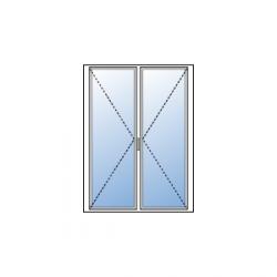 Porte-fenêtre 2 vantaux sans soubassement